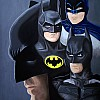 Batman Adam west Michael Keaton Cristhian Bale Ben Affleck